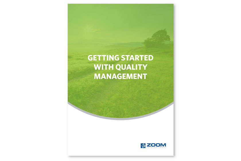getting started with quality management